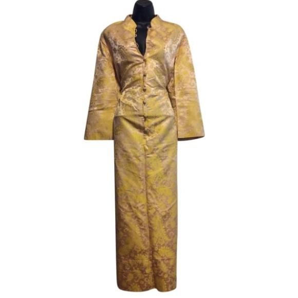 Lord & Taylor Dresses & Skirts - Vintage Lord & Taylor Asian Inspired Kimono Dress